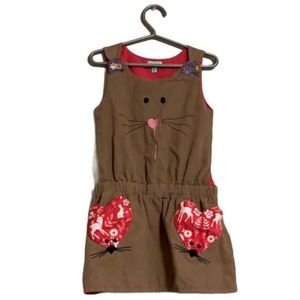 Lilly & Sid Corduroy Dress - Toddler's Size 4/5